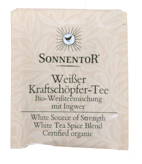 White Source Of Strength Tea