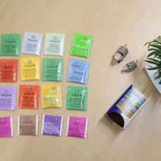 同じ味は1つもなかった!!ゾネントアの20種類のお茶。オーガニックハーブティーを飲んで、完全に個人的かつ気まぐれなレビューを残してみた❤
