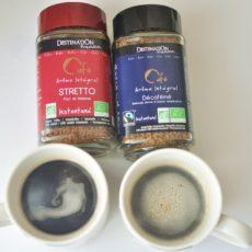 オーガニック認定の生豆を使用したDESTINATION(デスティネーション)オーガニックインスタントコーヒー イタリアンブレンドとデカフェを飲み比べてみた!
