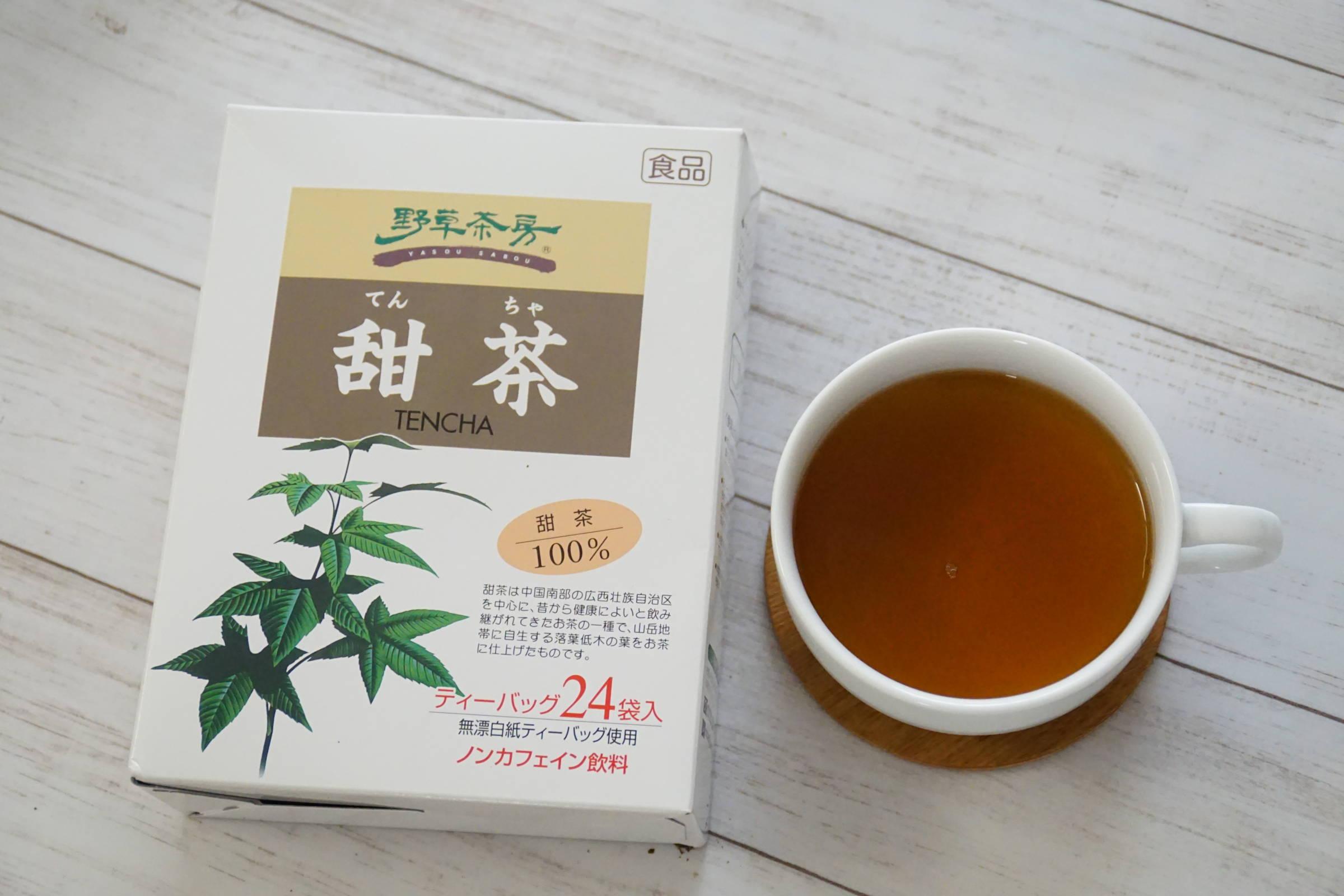 効能 甜茶