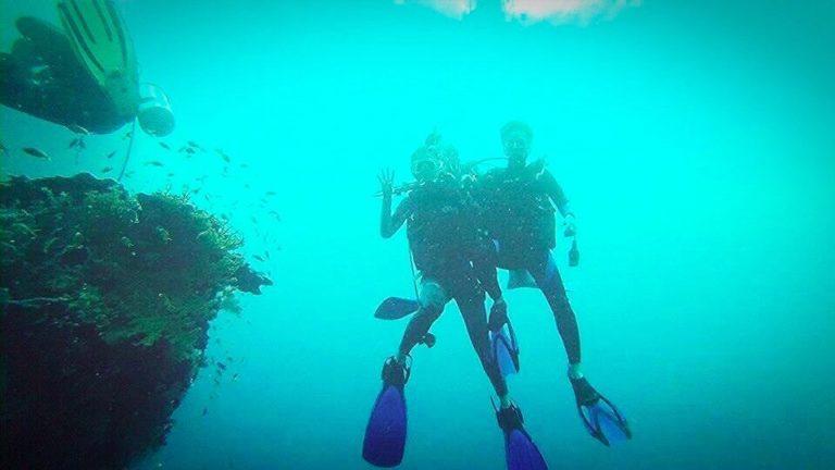 セブ島でのダイビング
