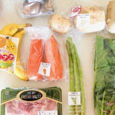 有機野菜やオーガニック食材で人気のらでぃっしゅぼーやでお試しセットを頼んでみました。