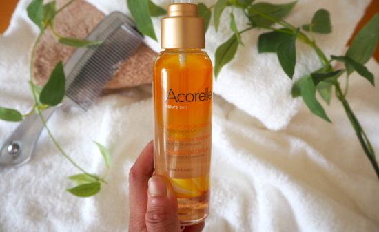 ヘアロスの原因にもなるから髪にもしっかり紫外線対策を!「Acorell(アコレル)」ヘアオイルミスト