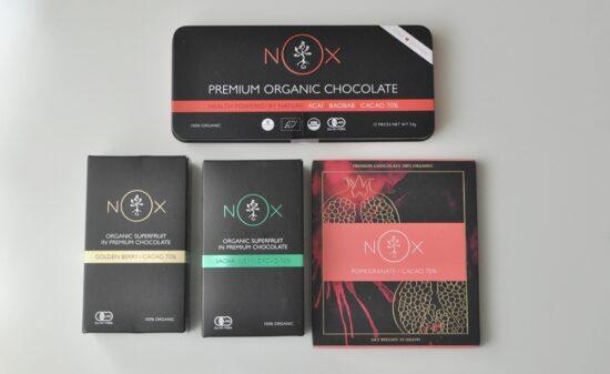 食べた方が体が喜ぶNOX ORGANICS(ノックスオーガニック)のチョコレートを生活に取り入れています!