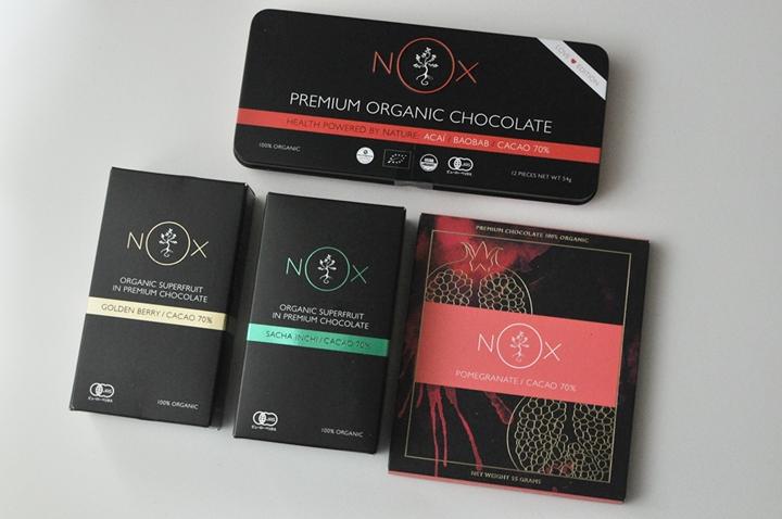ノックスオーガニック プレミアムオーガニックチョコレート オーロラバーチョコレート パワーブーストチョコレート